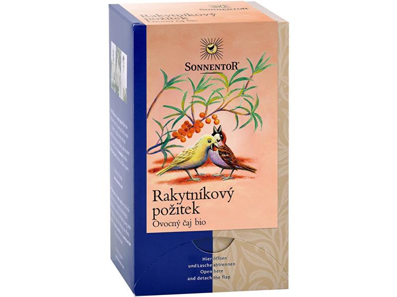 Zobrazit detail výrobku Sonnentor Bio Rakytníkový požitek čaj porc. dvoukomorový 54g (18sáčků)