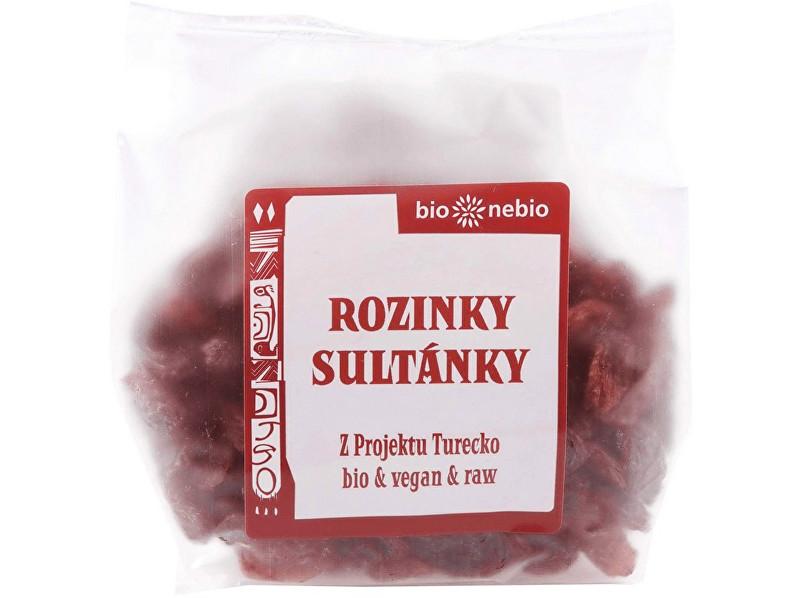 Bio nebio s. r. o. Bio Rozinky sultánky 150g