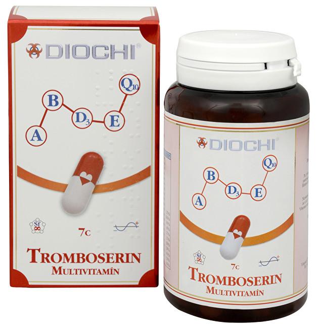Zobrazit detail výrobku Diochi Tromboserin Multivitamín 80 kapslí