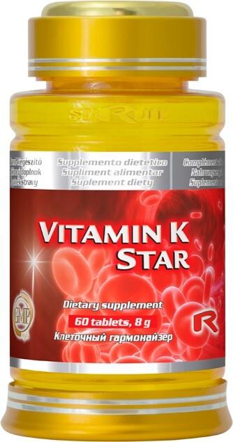 STARLIFE Vitamín K Star 60 tbl.