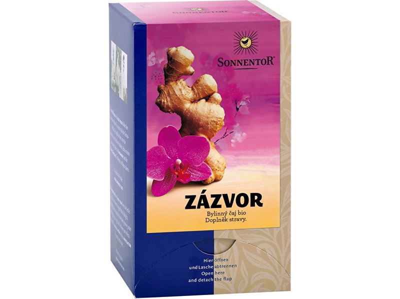 Zobrazit detail výrobku Sonnentor Bio Zázvor - čaj porc. dárkový 20g (20sáčků)