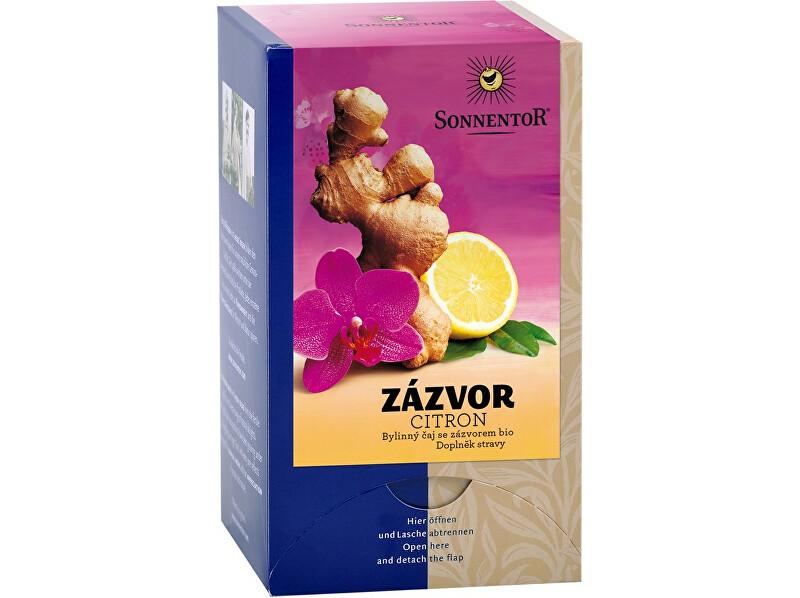 Zobrazit detail výrobku Sonnentor Bio Zázvor - citron čaj s kořením porc. dárkový 30g (20sáčků)