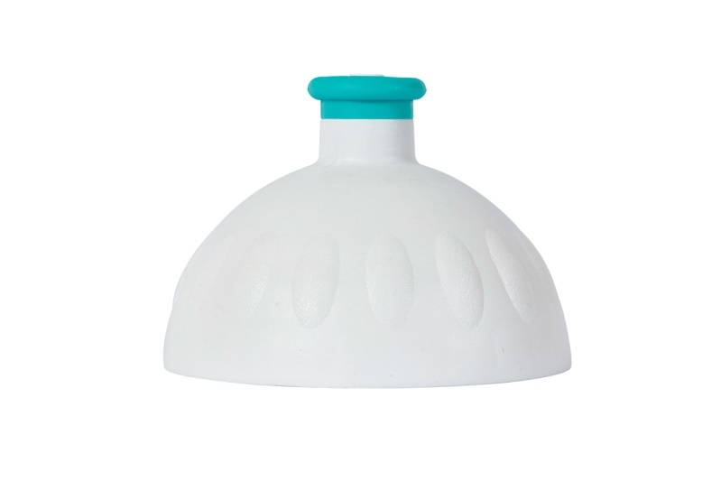Zobrazit detail výrobku R&B Zdravá lahev víčko/zátka bílé/zátka zelená tyrkys