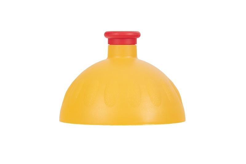 Zobrazit detail výrobku R&B Zdravá lahev víčko/zátka Víčko tmavě žluté/zátka červená