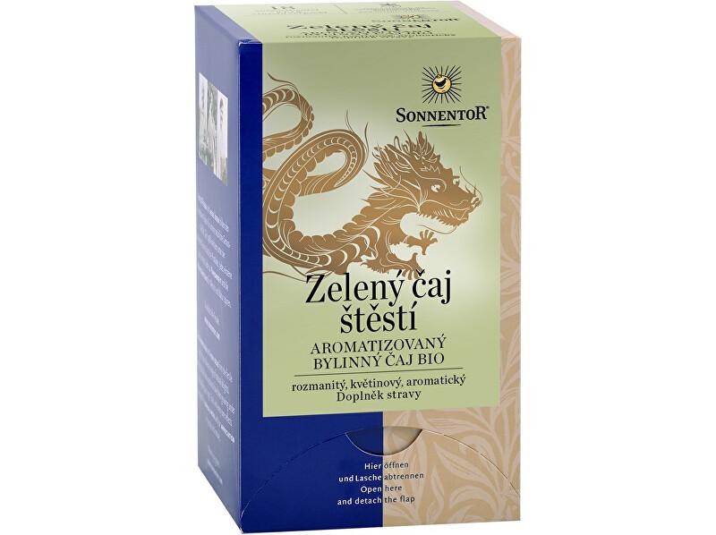 Zobrazit detail výrobku Sonnentor Bio Zelený čaj - štěstí porc. dárkový 19,8g