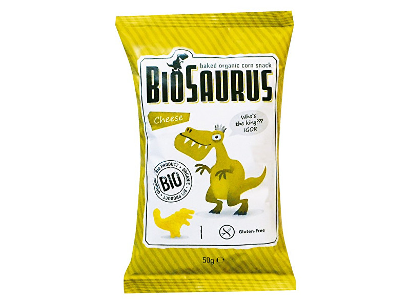Zobrazit detail výrobku Biosaurus Bio Biosaurus křupky se sýrem 50g