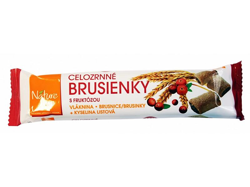 Fotografie Brusinky celozrnné sušenky 65g