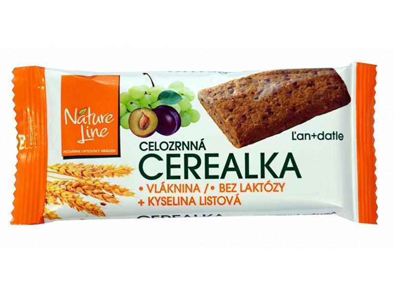 Zobrazit detail výrobku Nature Line Cerealka sušenka celozrnná 30g