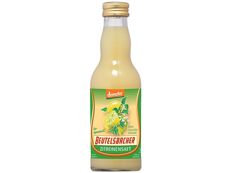 Zobrazit detail výrobku Beutelsbacher Bio Citronová šťáva 100% Beutelsbacher 0,2 l