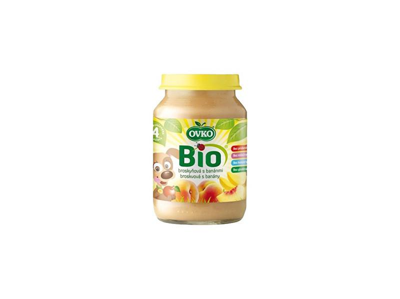 Zobrazit detail výrobku OVKO Bio Dětská výživa broskvová s banány OVKO 190g