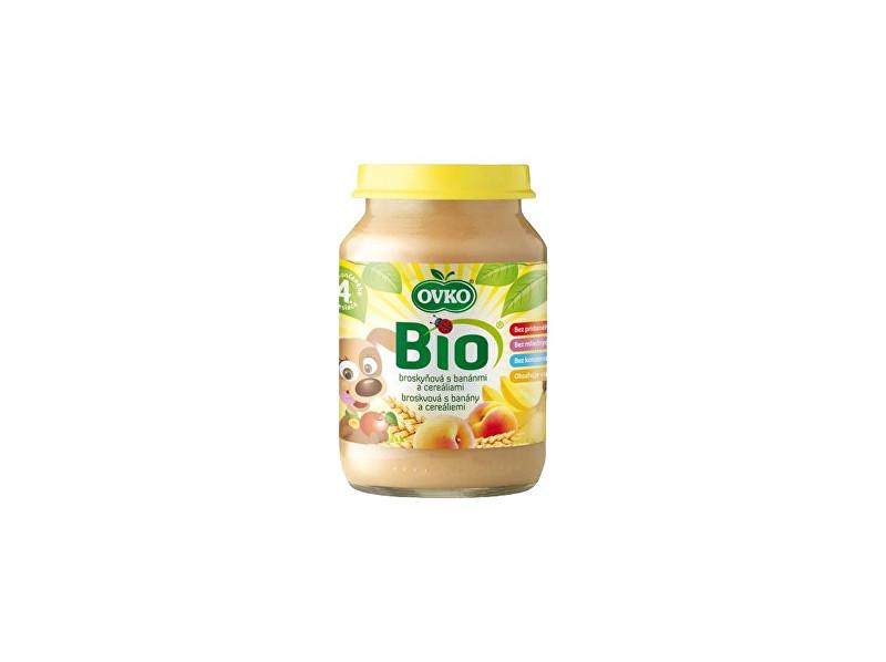 Zobrazit detail výrobku OVKO Bio Dětská výživa s banány a cereáliemi OVKO 190g