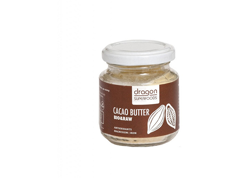 Dragon superfoods Bio Kakaové máslo 100ml RAW