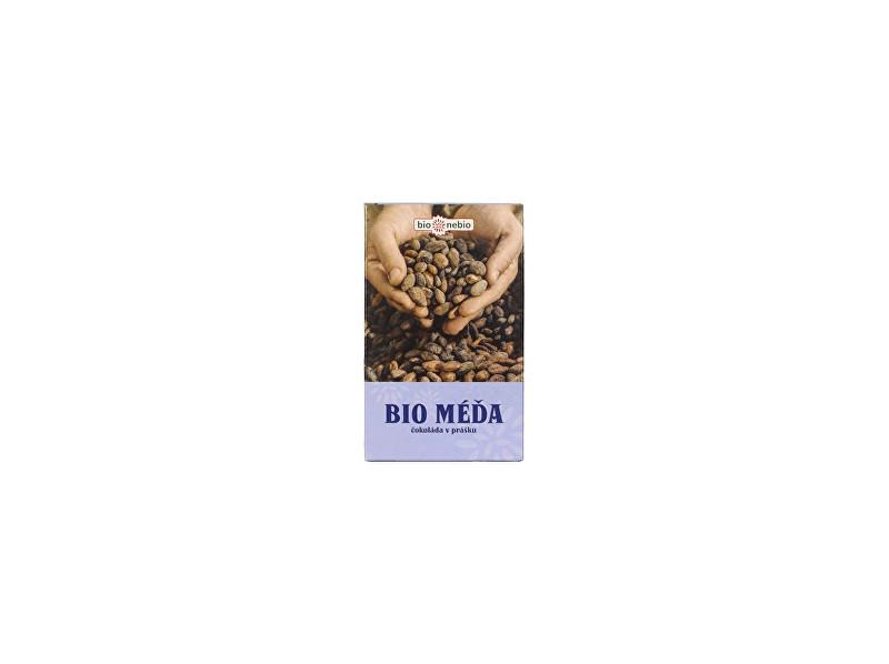 Zobrazit detail výrobku Bio nebio s. r. o. Bio čokoláda v prášku MÉĎA 150g se sníženým obsahem tuku