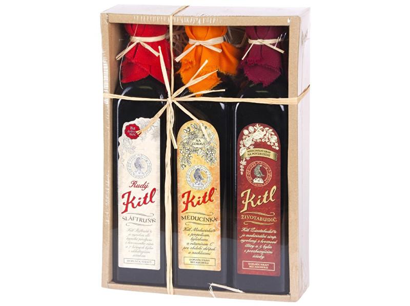 Kitl Kitl Apatyka (3 x 500 ml) dárkové balení