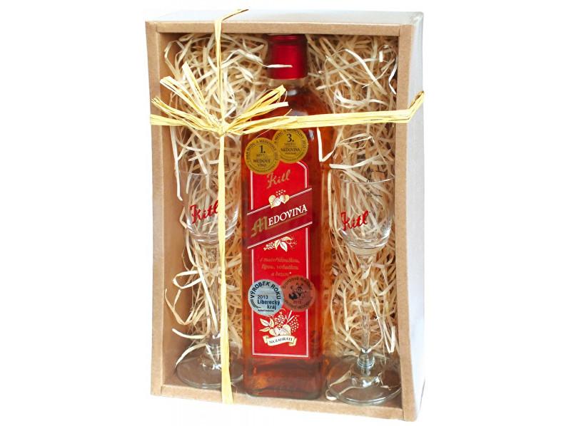 Zobrazit detail výrobku Kitl Medovina 500ml+2skleničky dárkové balení