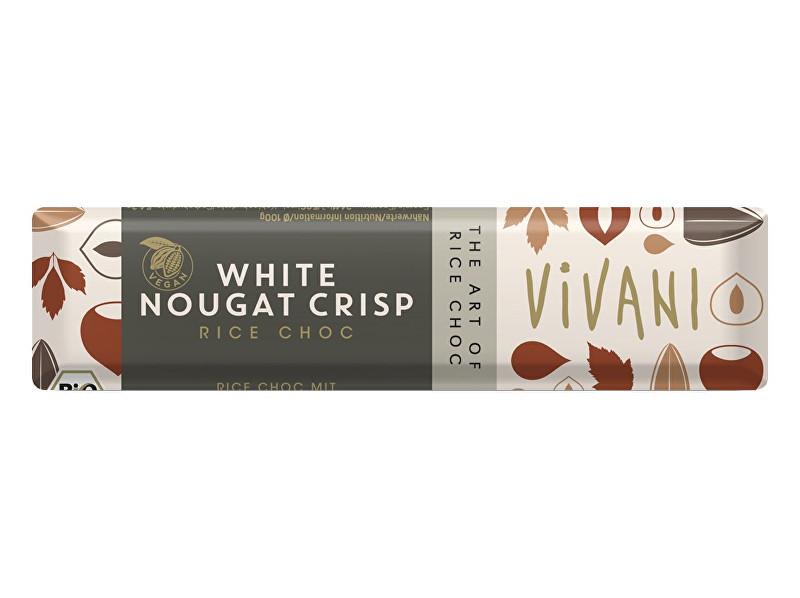 VIVANI Bio tyčinka nugátová biela s ryžovým mliekom 35g