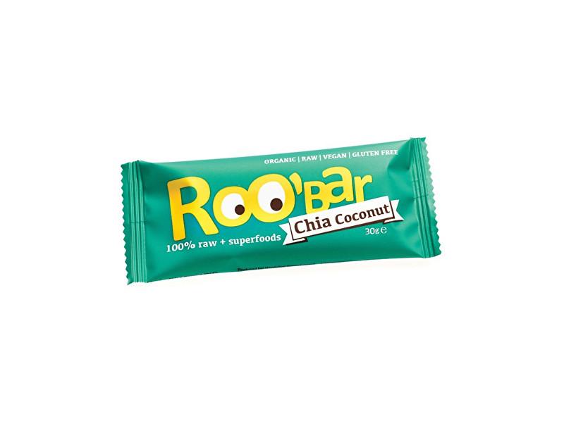 Zobrazit detail výrobku Roobar Bio tyčinka Roobar Datlová s chia a kokosem 30g RAW