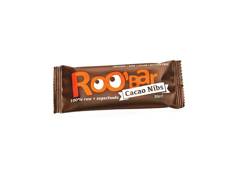 Zobrazit detail výrobku Roobar Bio tyčinka Roobar Kakaová s mandlemi 30g RAW