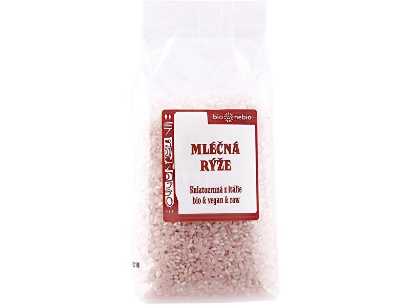 Zobrazit detail výrobku Bio nebio s. r. o. Bio Rýže mléčná bílá 500g