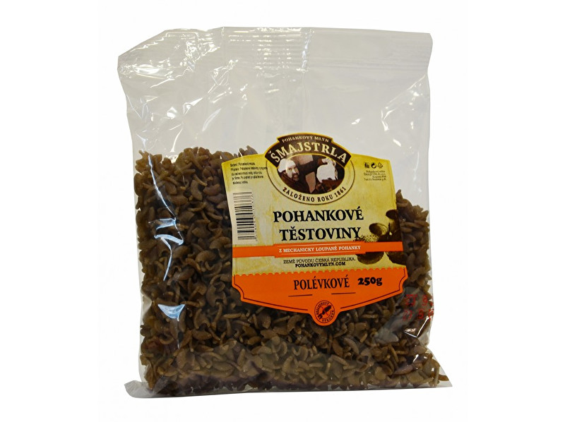 Zobrazit detail výrobku Šmajstrla Pohankové těstoviny polévkové 250 g