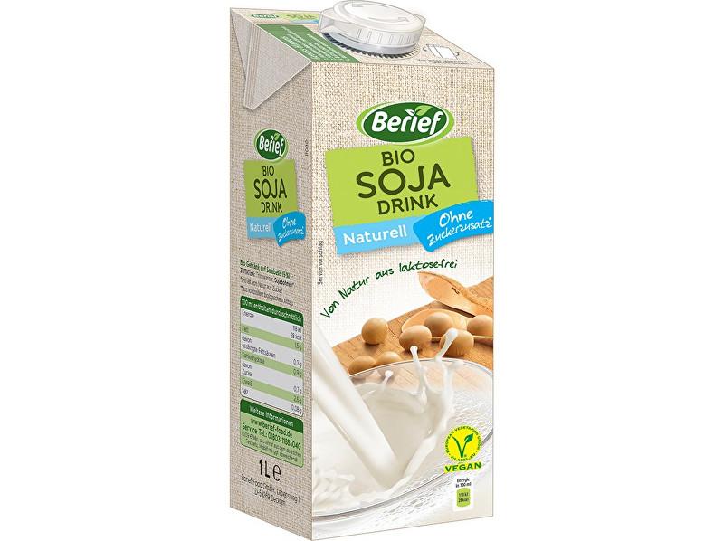 Zobrazit detail výrobku Berief Bio Sójový drink Naturell BERIEF 1l