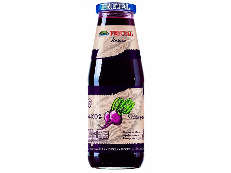 Fructal Šťáva NATURA červená řepa 100% 0,7l
