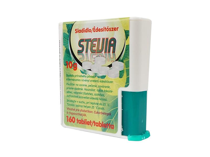 Stevia Stevia - sladidlo tablety , dávkovač 160tbl