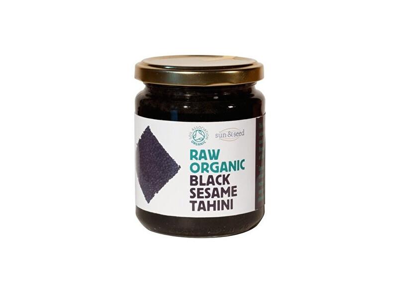 Zobrazit detail výrobku Sun and Seed Bio Tahini pasta z černého sezamového semínka raw 250g