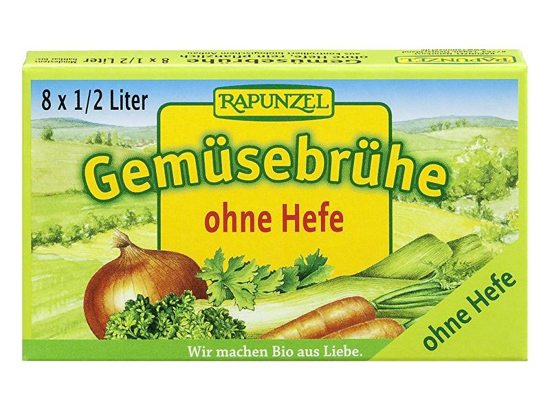 Zobrazit detail výrobku Rapunzel Bio Zeleninový vývar bez droždí v kostce 8ks