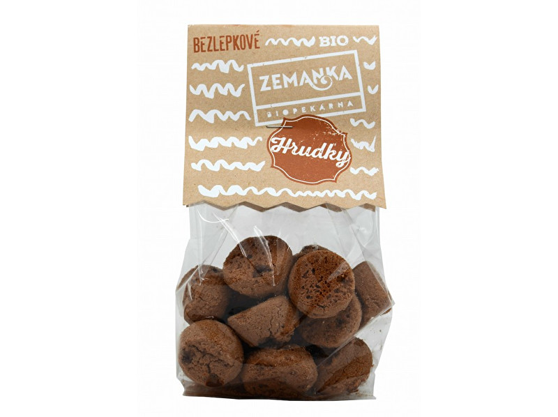 Zobrazit detail výrobku Biopekárna Zemanka Bio Bezlepkové čokoládové hrudky 100 g