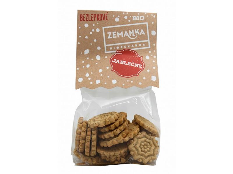 Zobrazit detail výrobku Biopekárna Zemanka Bio Bezlepkové jablečno-pohankové sušenky 100 g