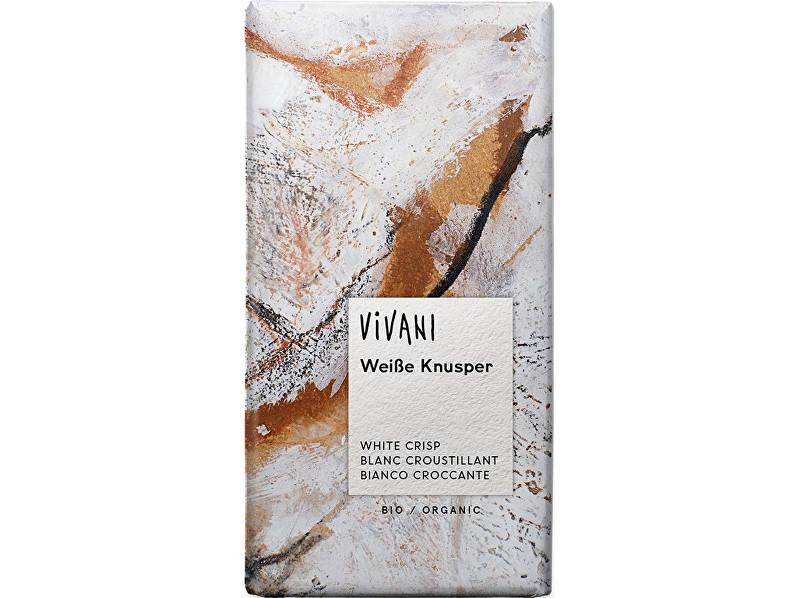 Zobrazit detail výrobku VIVANI Bio bílá křupavá čokoláda 100g