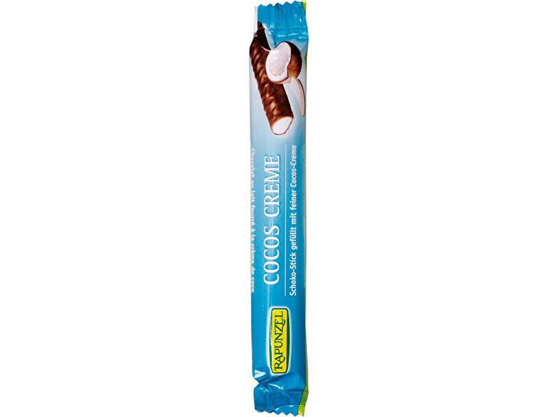 Rapunzel Bio čokoládová tyčinka kokosový krém 22g RAPUNZEL