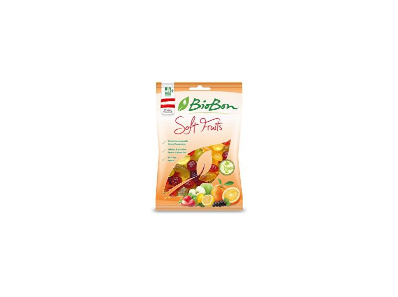 bio bon Bio gumové bonbony zahradní ovoce 100g