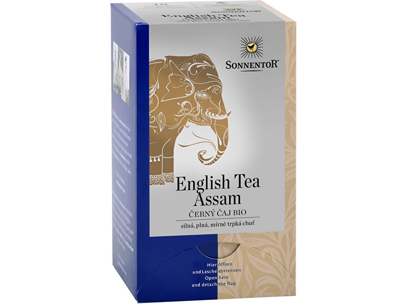 Zobrazit detail výrobku Sonnentor Bio Černý čaj English Tea Assam 36g