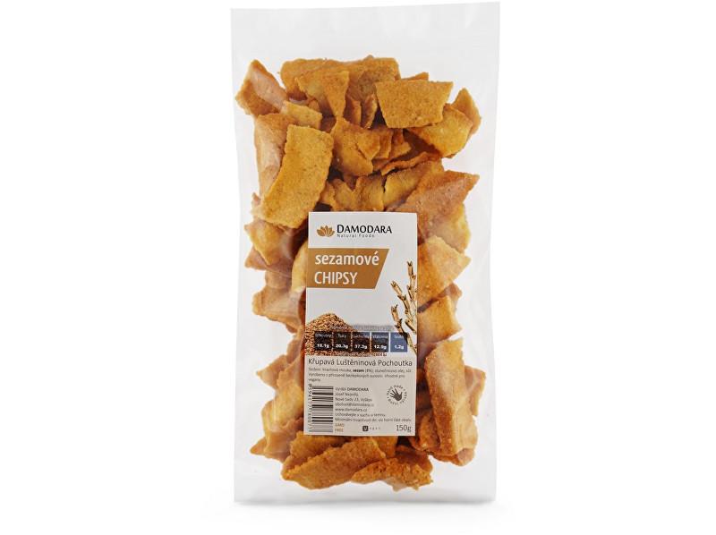 Damodara Sezamové chipsy 150g