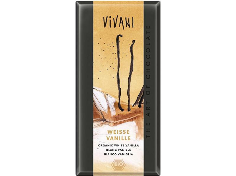 Zobrazit detail výrobku VIVANI Bio bílá čokoláda s vanilkou 80g