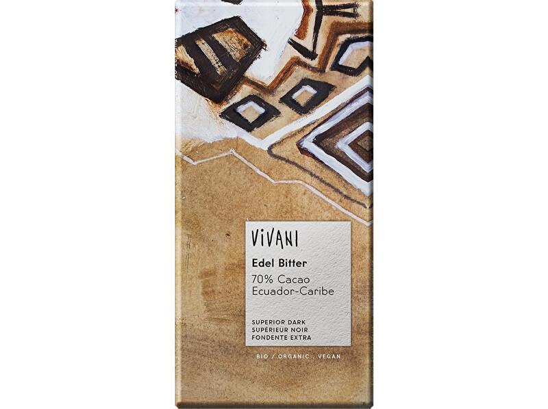 Zobrazit detail výrobku VIVANI Bio hořká čokoláda 70% 100g