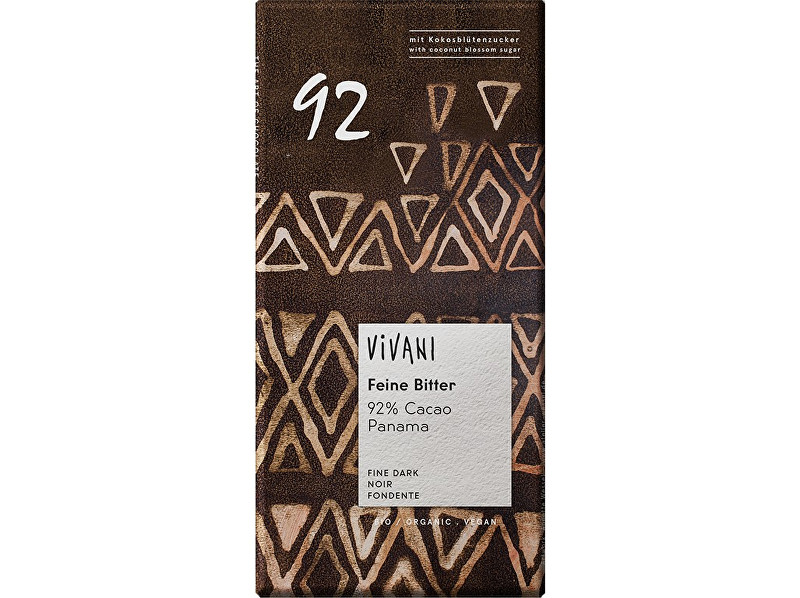 Zobrazit detail výrobku VIVANI Bio hořká čokoláda 92% 80g