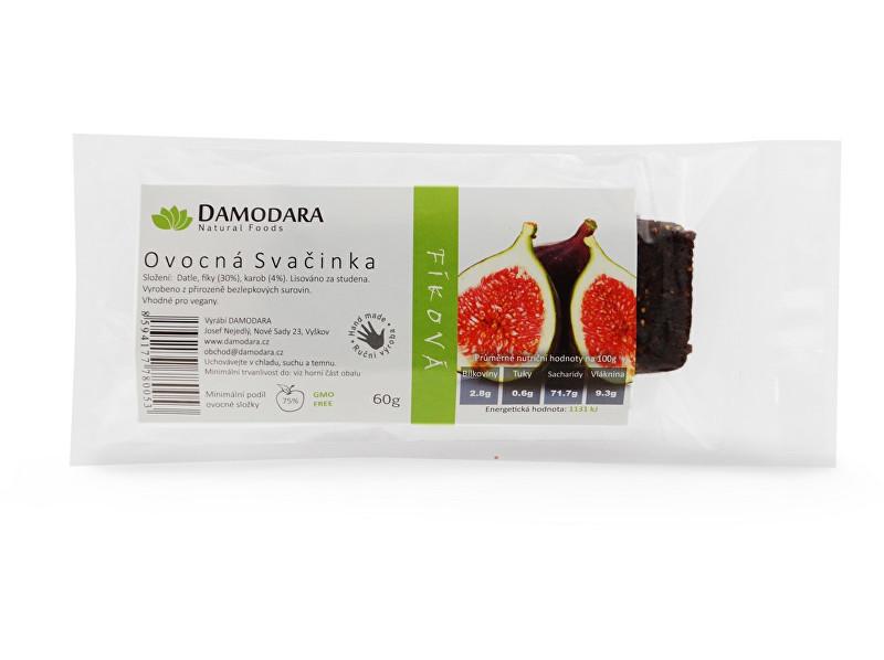 Zobrazit detail výrobku Damodara Tyčinka Ovocná svačinka fíková 60 g