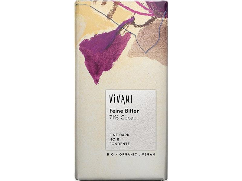 Zobrazit detail výrobku VIVANI Bio Hořká čokoláda 71% 100g