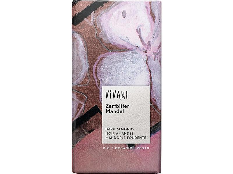 Zobrazit detail výrobku VIVANI Bio Hořká čokoláda s mandlemi 100g