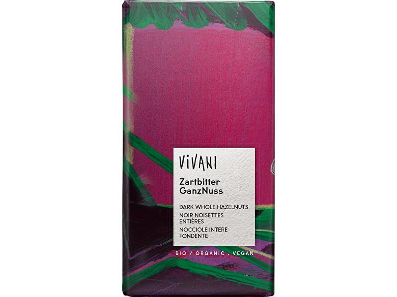 Zobrazit detail výrobku VIVANI Bio Hořká čokoláda s oříšky 100g