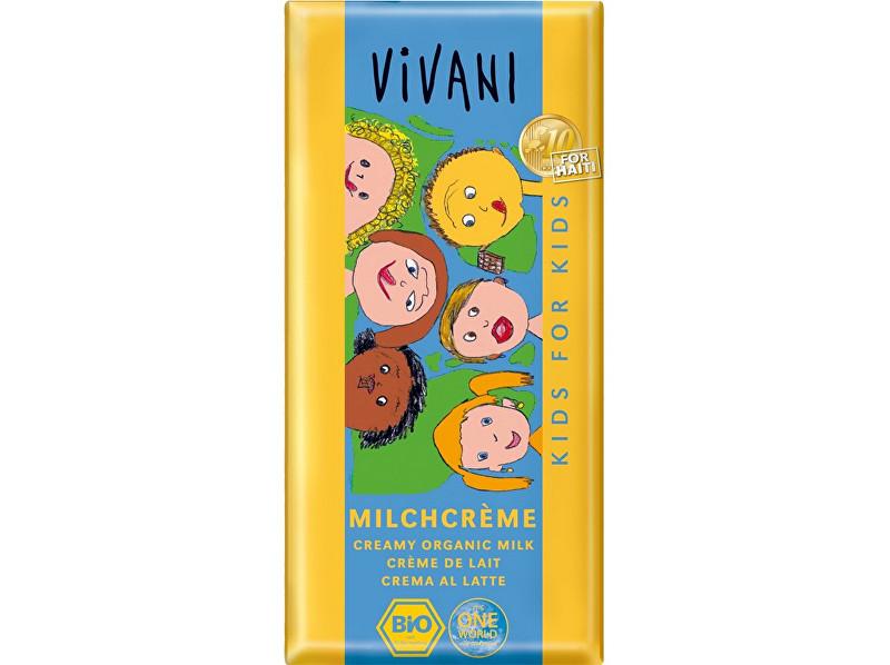 Zobrazit detail výrobku VIVANI Bio Kids čokoláda mléčná s náplní 100g