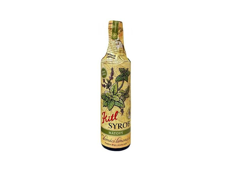 Bio Kitl Syrob Mátový 500 ml - sirup pro přípravu domácích limonád