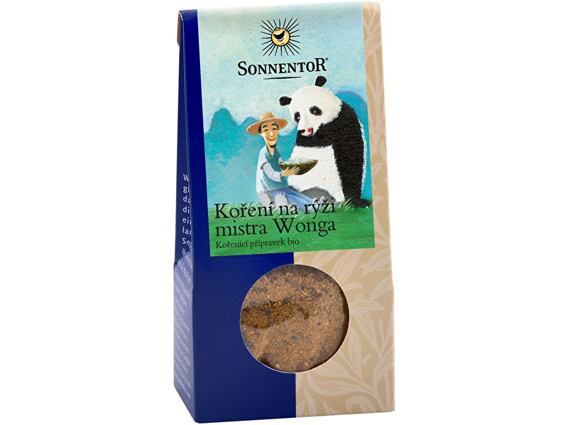 Zobrazit detail výrobku Sonnentor Bio Koření na rýži mistra Wonga 40g
