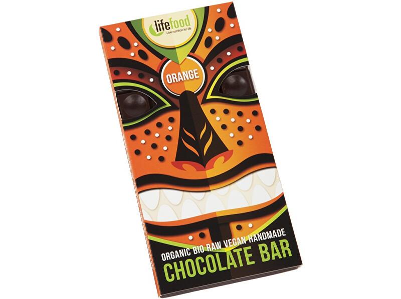 Zobrazit detail výrobku Lifefood Bio Lifefood Chocolate pomerančová 70g