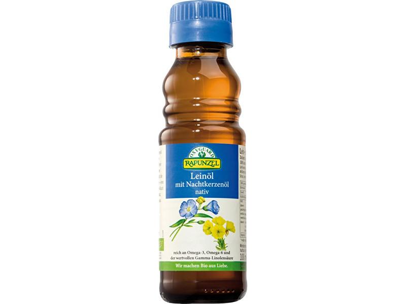 Zobrazit detail výrobku Rapunzel Bio lněný olej lisovaný za studena s pupalkou 100ml