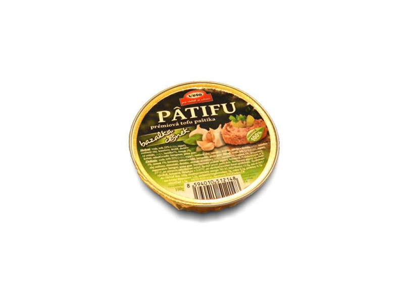 Veto Eco Patifu bazalka- česnek 100g