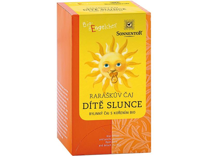 Fotografie SONNENTOR Bio Raráškův čaj - Dítě slunce - porc. bylinný čaj s kořením 30g (20sáčků)